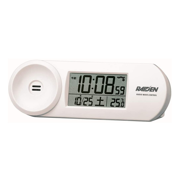 温度 カレンダー表示付き 情熱セール 大音量目覚まし置き時計 激安 激安特価 送料無料 セイコークロック 大音量電波目覚まし置時計 カレンダー表示付 BC407W RAIDEN 在庫限り