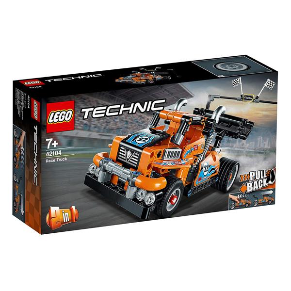 レゴ テクニック 出荷 レーシングトラック 42104 在庫限り LEGO 新品未使用