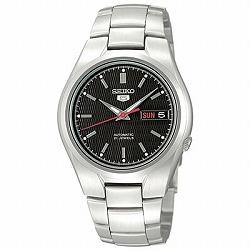 セイコー5 逆輸入 自動巻き腕時計 赤秒針 バックスケルトン SNK607K1 SEIKO FIVE オートマチック ウォッチ 在庫限り