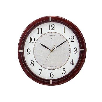 CITIZEN「シチズン」 ソーラー電源・電波掛け時計 エコライフM768