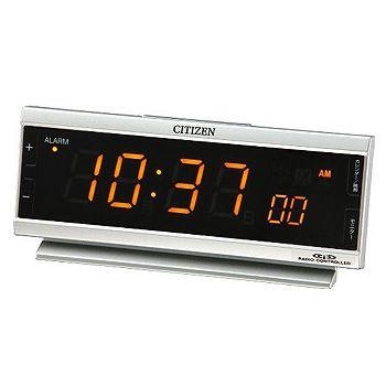 在庫限り シチズン デジタル電波目覚まし置時計 AC電源 パルデジットピュア CITIZEN 8RZ099-019