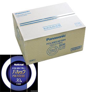 パナソニック パルックプレミア 蛍光灯 FCL30ECW28HF 20個入り  「FCL30ECW/28HF」 Panasonic