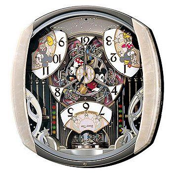 セイコークロック 電波キャラクタークロック 掛時計 ミッキー&フレンズ FW563A