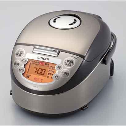 TIGER「タイガー」 IH炊飯器 3合炊き 土鍋コーティング JKO-G550