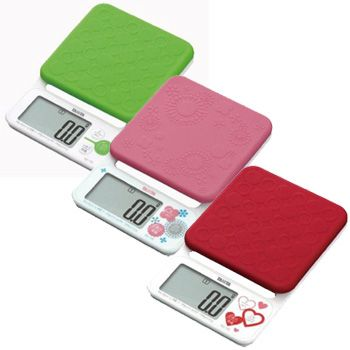 Digital Cooking Scale TANITA U0027Tanitau0027 Removable And Washable With A Silicon  Cover KD 192
