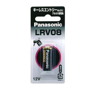 パナソニック 12Vアルカリ乾電池 LRV08 10本パック 期間限定特別価格 Panasonic 国内在庫 1BP LR-V08