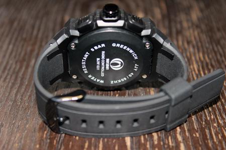 """丸万塑料""""丸万塑料""""无线电看格林威治格林威治男式手表 MJW1031 GL1"""