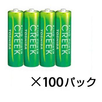 東芝 マンガン乾電池 キングパワークリーク R6P EM 4KP 単3×400本  TOSHIBA