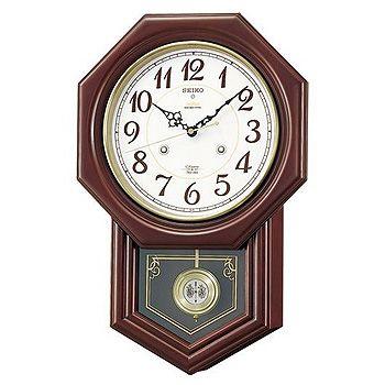 SEIKO「セイコー」 電波掛け時計 チャイム&ストライク RQ205B