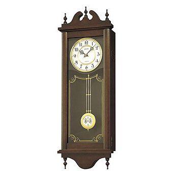 在庫限り セイコー 掛け時計 チャイム&ストライク RQ309A 柱時計 SEIKO