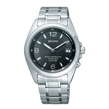 CITIZEN「シチズン」 REGUNO「レグノ」 ソーラーテック電波腕時計 メンズウォッチ RS25-0343H 「取り寄せ」