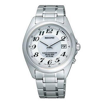 CITIZEN「シチズン」 REGUNO「レグノ」 ソーラーテック電波腕時計 メンズウォッチ RS25-0347H 「取り寄せ」
