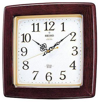 SEIKO「セイコー」 電波掛け時計 チャイム&ストライク RX211B