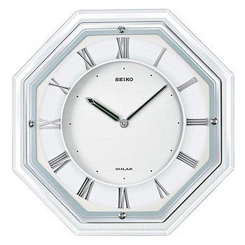 SEIKO「セイコー」 電波掛け時計 薄型ソーラープラス SF503W