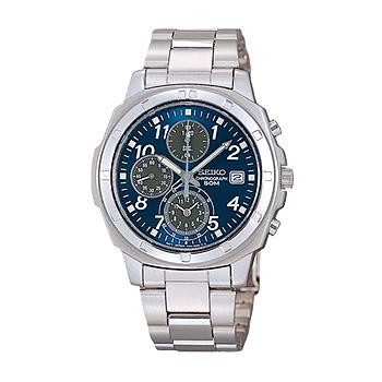 SEIKO「セイコー」 海外モデル 逆輸入クロノグラフ 腕時計 SND193