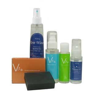 毎週水曜日「5%オフクーポン」発行中! 乾燥肌や混合肌におすすめ。黒い絹の石鹸とサーノヴィータジェル、オイル、モイスチャージェルとローズウォーターのVITAパーフェクトセット。にきびや肌荒れ対策, ダーツハイブ カウントアップ店:7502971e --- officewill.xsrv.jp