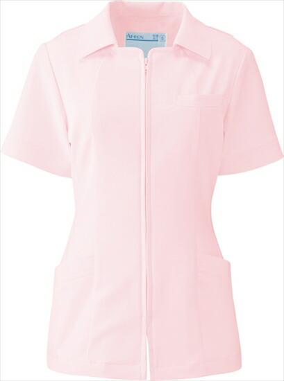 KAZEN(カゼン) ジャケット半袖 102-23(ピンク) S