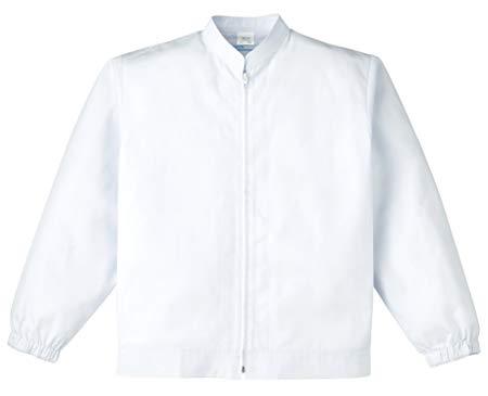 KAZEN(カゼン) 男子ジャンパー長袖 454-30(ホワイト) 3L
