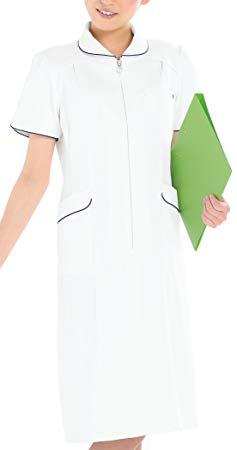 医療用 ドクター ナース向けウェア 予約販売品 KAZEN ワンピース半袖 カゼン 006 正規認証品!新規格