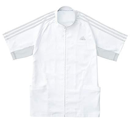 KAZEN(カゼン) アディダス メンズジャケット半袖 SMS603-17(グレー) XO