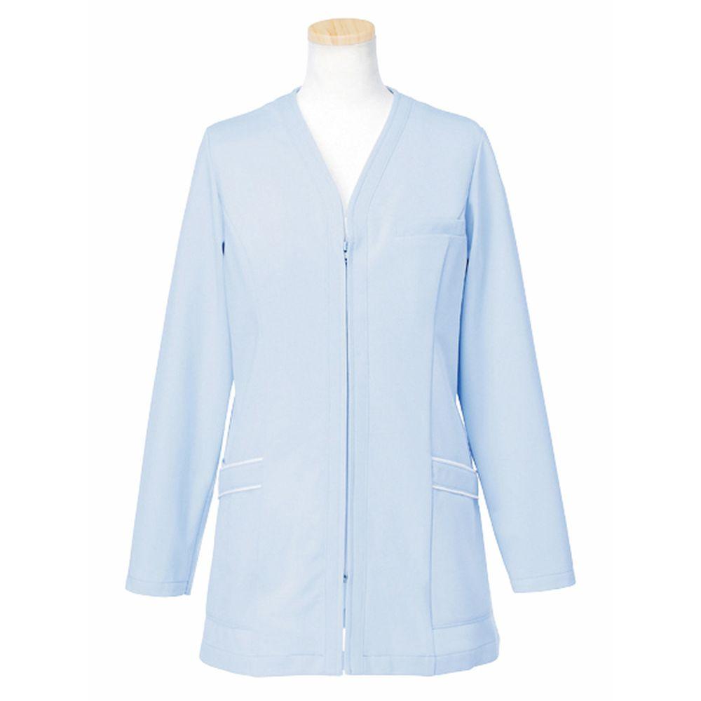トリコットライトジャケット M R1745-11(ブルー) 1枚 ヤギコーポレーション 24-7019-0002
