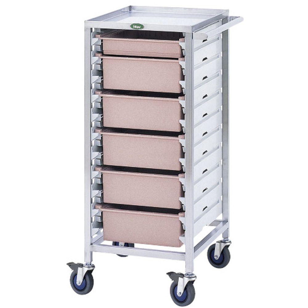 包帯交換カート 透明 C34-T10104T 1台 サカセ化学工業 23-3409-0003