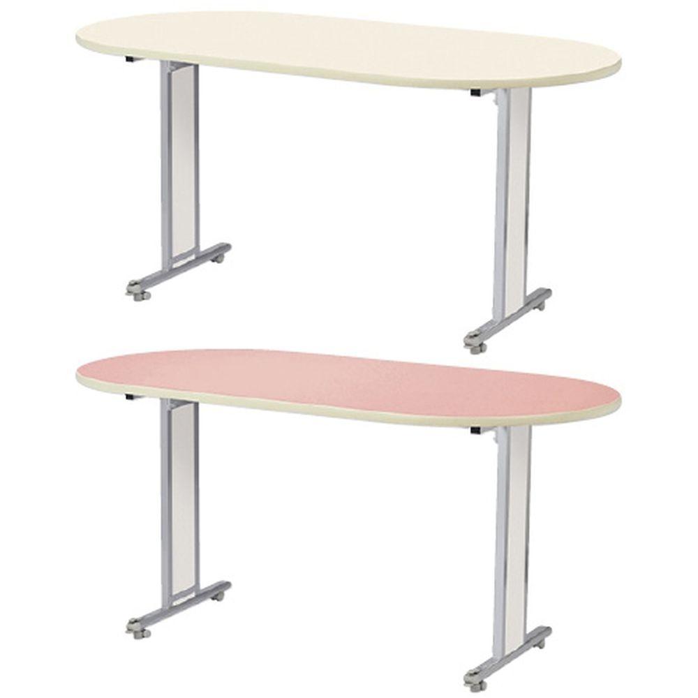 ナーステーブル ピンク NCT-1890L(180X90X74) 1台 ニシキ工業 24-3439-0002