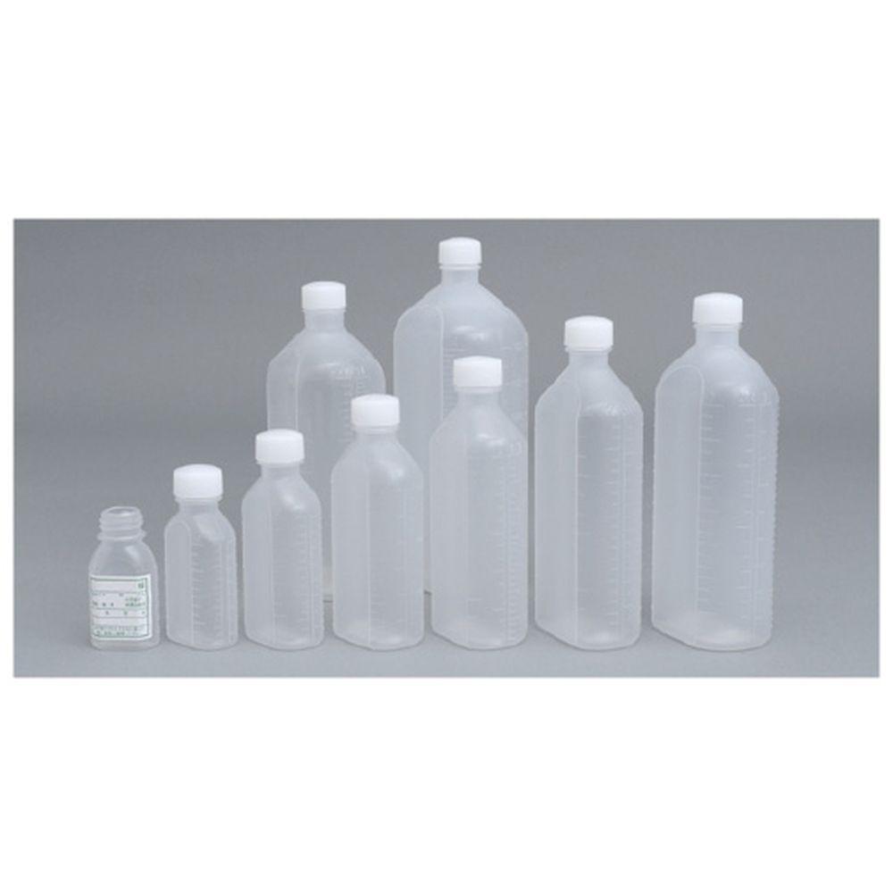 投薬瓶PPB(滅菌済) キャップ:白PP 100CC(10ホンX20フクロイリ) 1梱 エムアイケミカル 08-2855-0307