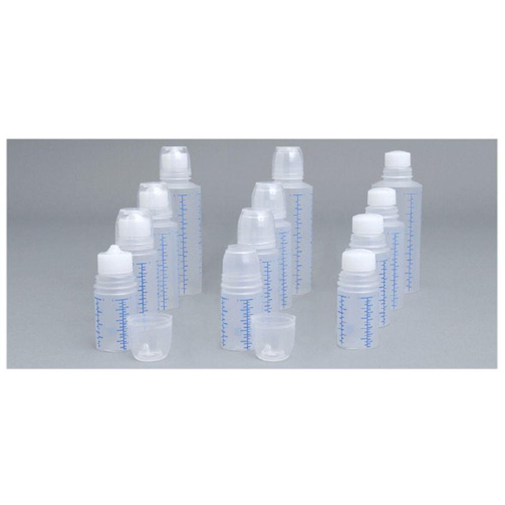 投薬瓶Mボトル(未滅菌) キャップ:透明 30CC(200ポンイリ) 1梱 エムアイケミカル 08-2920-0106