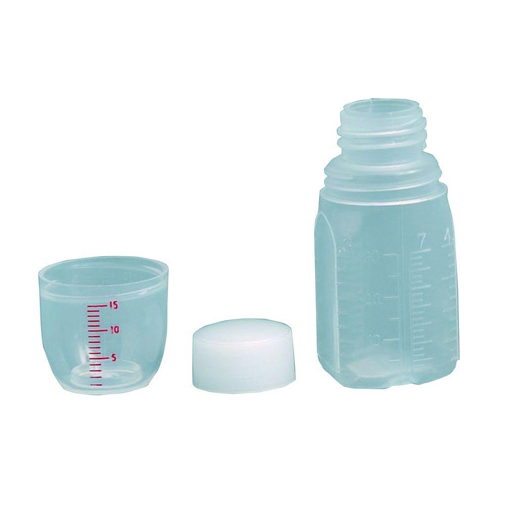 投薬瓶ハイユニット(未滅菌) キャップ:白(基本色) 30CC(200ポンイリ) 1梱 エムアイケミカル 19-7320-0001