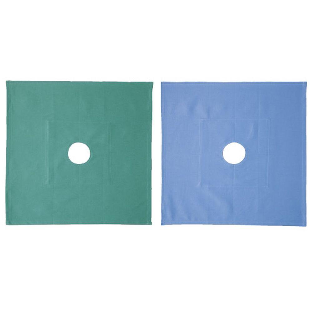 穴布(丸穴)φ60mm ブルー 450X450MM(5マイイリ) 1袋 イワツキ 23-5381-0002