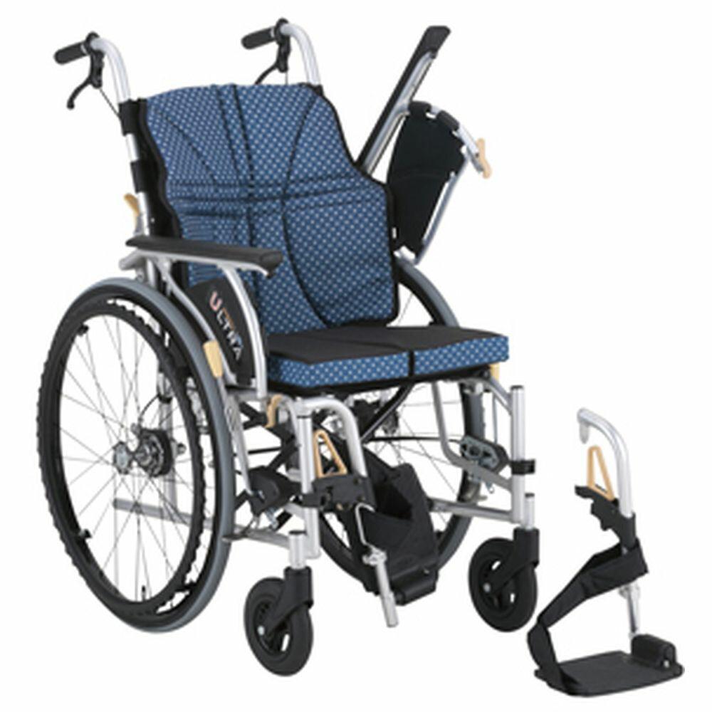 車いすウルトラ(自走)ワンストップ付ワイン NA-U2W+OSB(380MM) 1台 日進医療器 24-6618-0002
