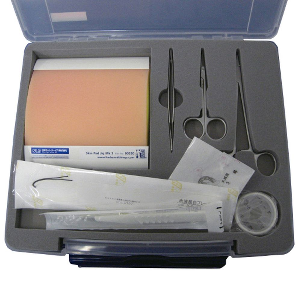 縫合練習キット 19-9001 1組 日本ライトサービス 11-2760-00