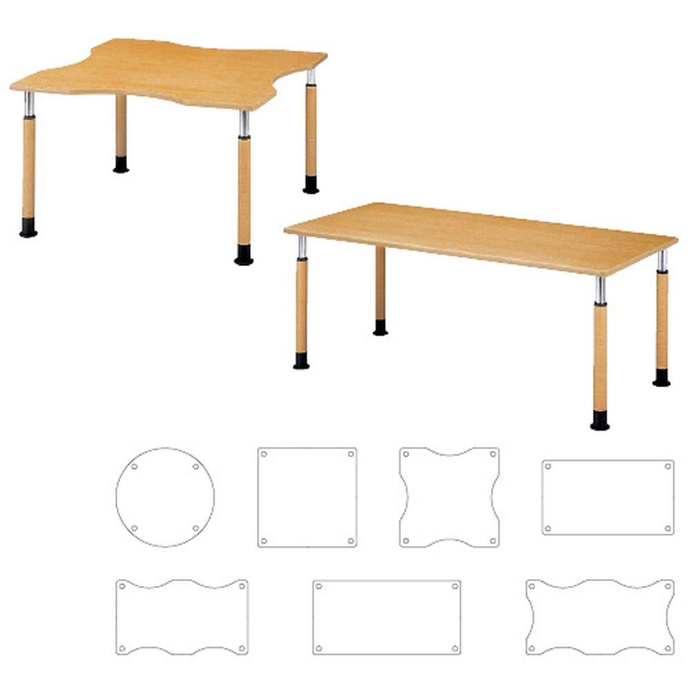 昇降式テーブル FPS-1690K(W160XD90CM 1台 ニシキ工業 23-6626-03