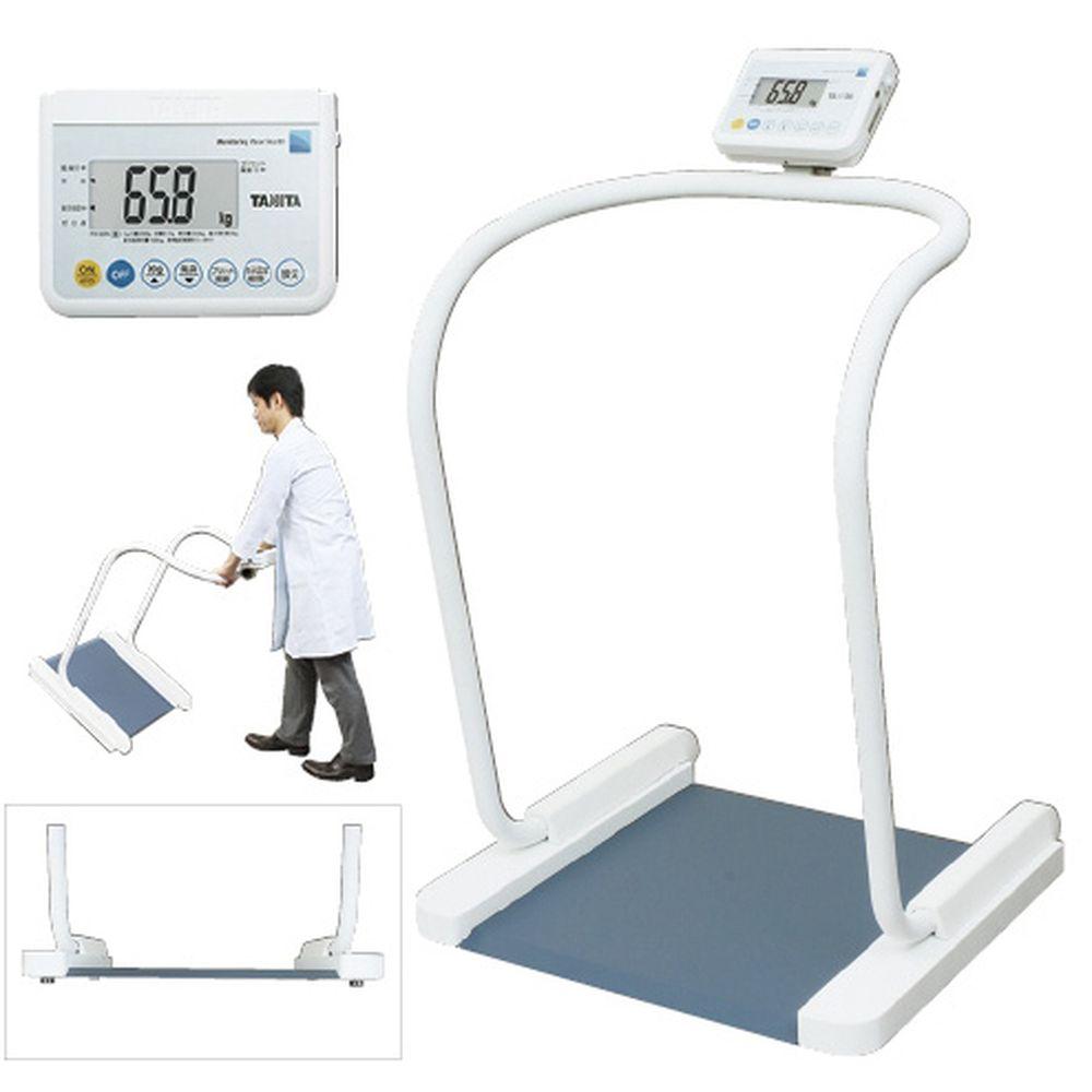 松吉医療総合カタログ タニタ ハンドレール付体重計 バーゲンセール 検定品 8区仕様 1台 RSツキ 23-6886-0108 数量は多 PH-550A