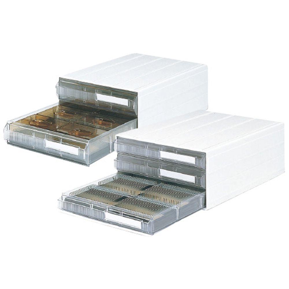 プレパラートケース収納カセッター 透明 HA4-002PG 1個 サカセ化学工業 20-2157-0001
