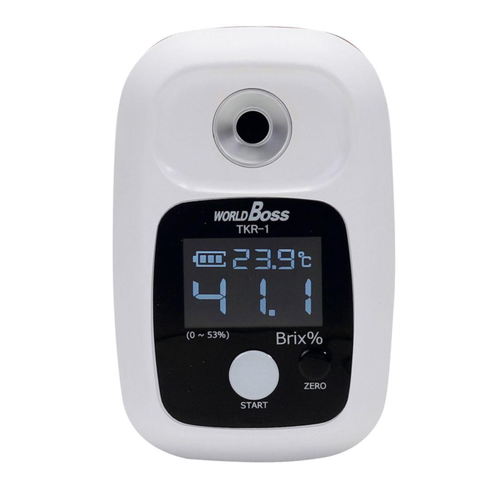 松吉医療総合カタログ 評価 森コーキ 通常便なら送料無料 デジタル糖度計 TKR-1 24-8004-00 1台