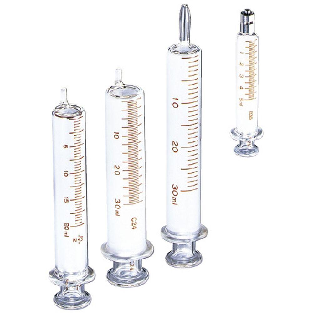 インター硝子注射筒(セット) 00076(30ML・ロック)5イリ 1箱 トップ 07-2363-06