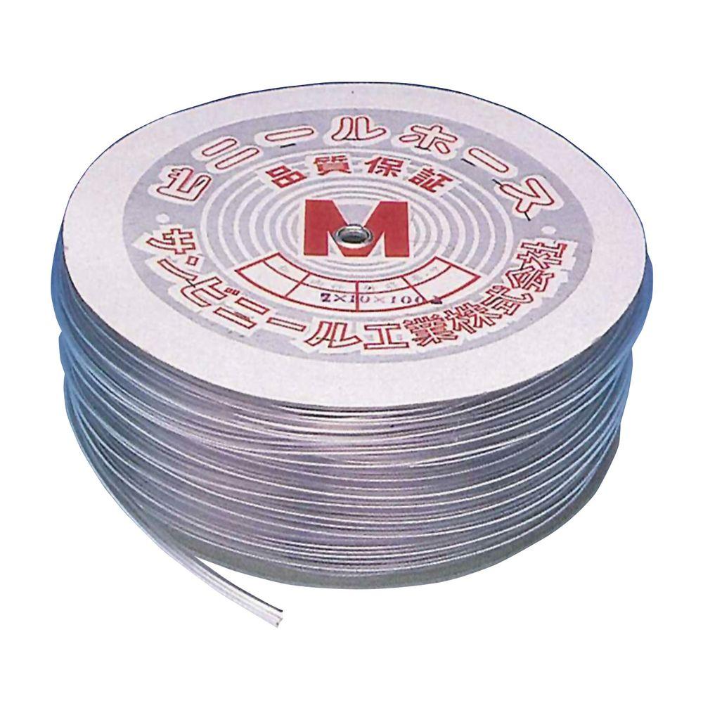ビニールチューブ 6X10MM(100M) 1巻 サンビニール工業 22-2000-09