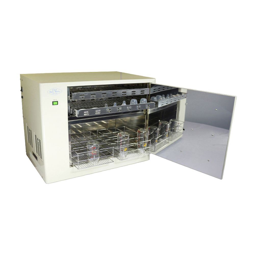 人気No.1 哺乳びん殺菌乾燥保管庫(24本用) CBB-2400 1台 日本カーヴィング 19-3120-02, ヨコハママチ beb1ceb0