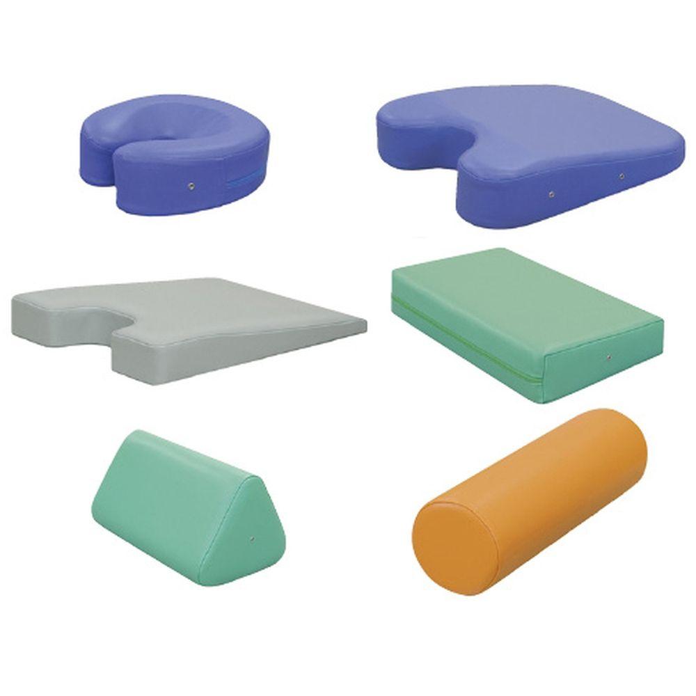 カラー丸マクラ(大) ビニルレザーライムグリーン TB-77C-53 1個 高田ベッド製作所 19-4323-0018