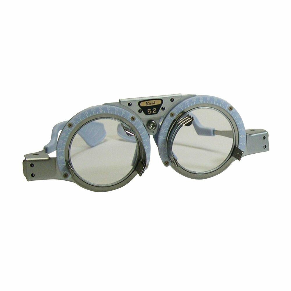 検眼枠 シンプルBC PD50mm ブルー 1個 オー・ビー・シー 24-2094-0002