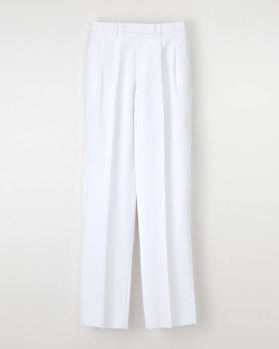 ナガイレーベン 男子パンツ MT-2258 サイズ79 ホワイト