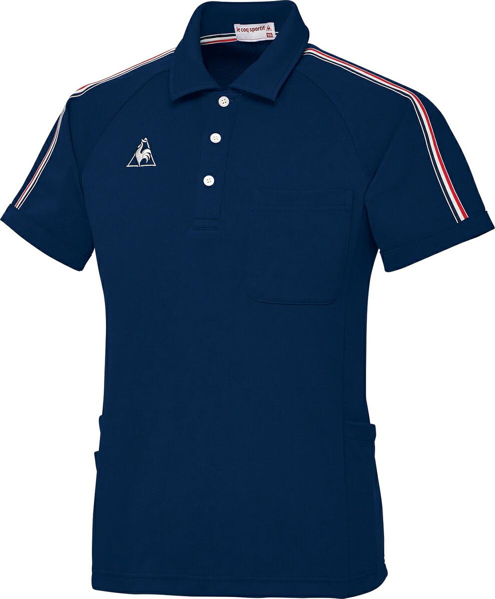 lecoq ルコック 男女兼用ニットシャツ UZL3043-5