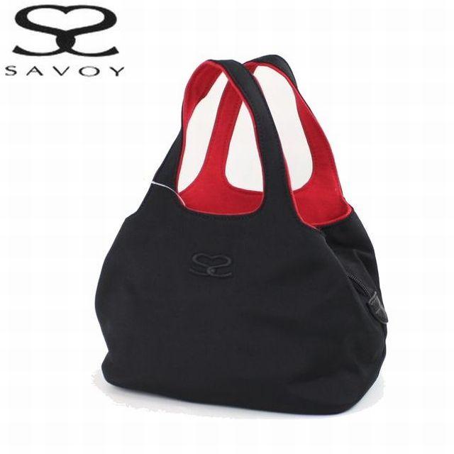 全3色 普段使いに人気の定番手提げバッグです サボイ SAVOY レディースバッグ ナイロン手提げ 1SM0809 超歓迎された クリスマス 定番 信憑 小 プレゼント 母の日