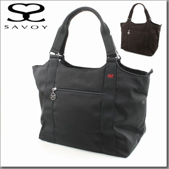 Savoy Bag Nylon Large Tote Zipper Closing 1sm0831