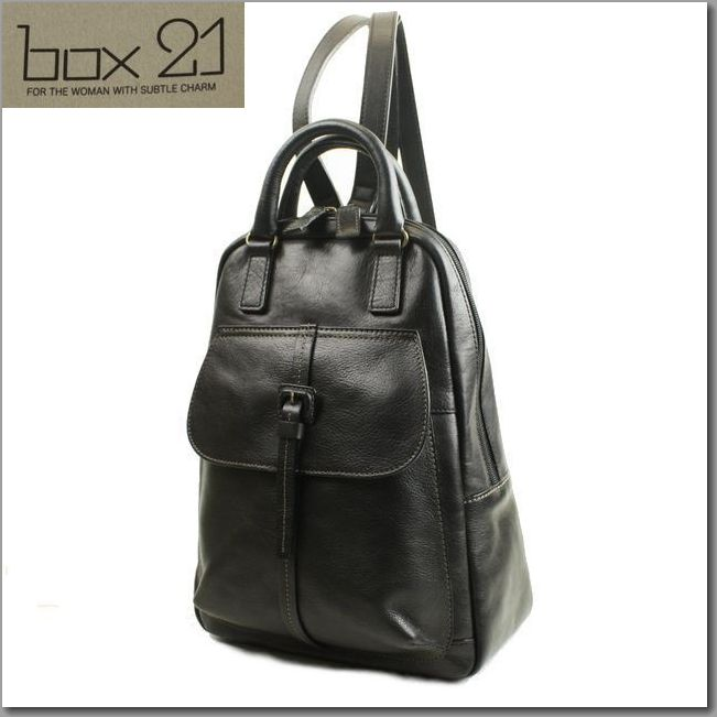 BOX 21 bag friend leather backpack 1335067