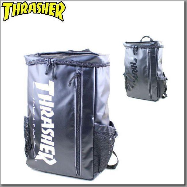 スラッシャー(THRASHER)リュックサック ターポリンスクエアーリュック TH-072 THRTP505