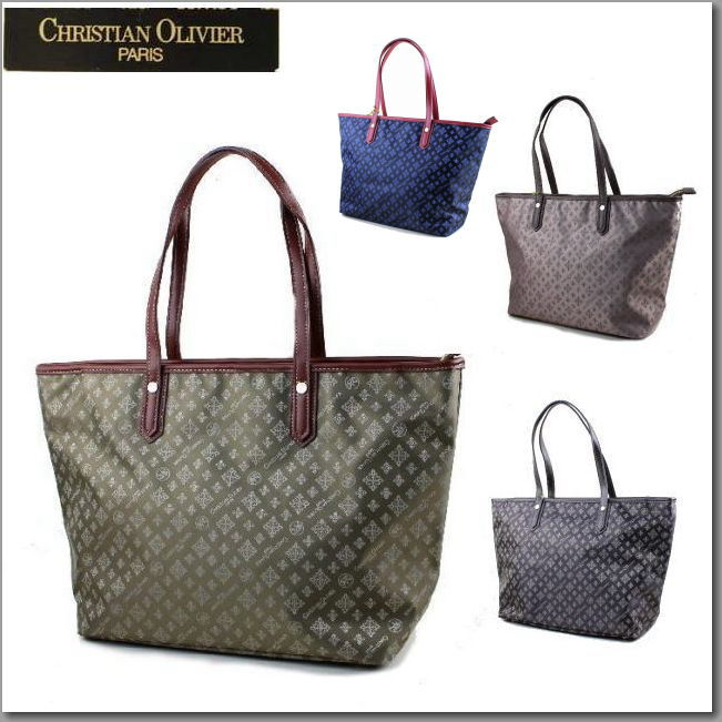 Olivier Chiristian Lady S Bag New Work Tote Semi Shoulder Water Repellency Processing 7920
