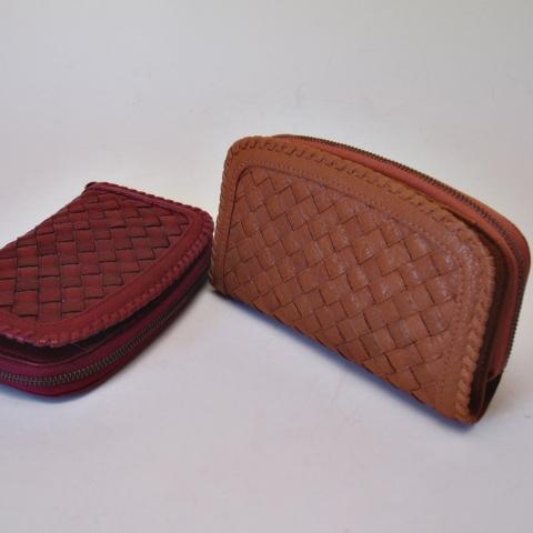 アルカン(ARUKAN)(バッファローメッシュ) 二つ折中型財布(送料無料)1411667 1412659